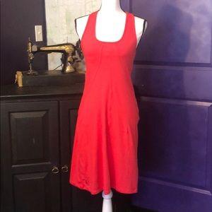 Dark coral Tennis or Golf dress